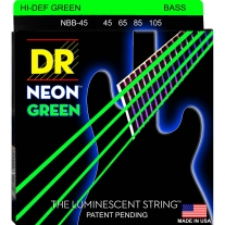 DR Strings NGB-45 45-105 GREEN Neon Bass STRINGS1-NGB-45 NGB45