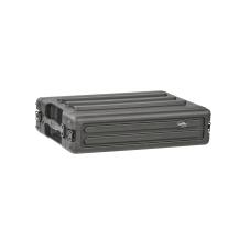 SKB 1SKB-R2S 2U Shallow Roto Rack with Steel Rails Front/Back