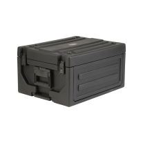 SKB 1SKB19-RSF4U Laptop and 4U Rack with Two Step Handle and Wheels