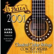 LA BELLA CONCERT SERIES EXTRA HARD CLASSICAL GUITAR STRINGS