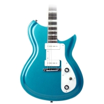 Eastwood Guitars Rivolta Guitars Combinata Standard In Adriatic Blue Metallic