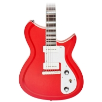 Eastwood Guitars Rivolta Combinata Standard In Pomodoro Red Metallic