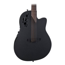 Ovation 2078 TX 5 Elite T Deep Contour Acoustic/Elec Guitar in Black