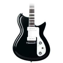 Eastwood Guitars Rivolta Combinata Standard In Toro Black Metallic