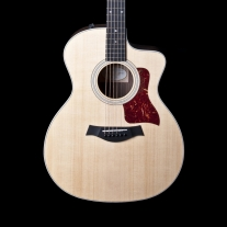 Taylor 214CE DLX Deluxe Grand Auditorium Acoustic Electric Guitar with Case