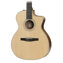 Taylor 214CEN Nylon String Grand Auditorium Acoustic Electric Guitar