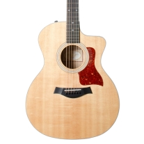 Taylor 214ce Quilted Maple Deluxe Grand Auditorium w/ Case