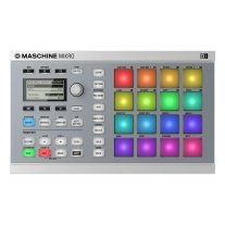 Native Instruments Maschine Mikro MK2 White with Komplete Select to Komplete 11 Upgrade