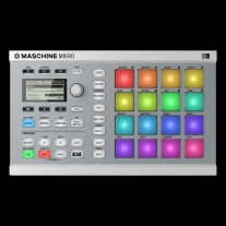 Native Instruments MASCHINE Mikro MK2 Controller in White