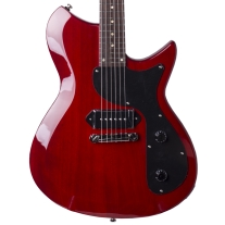 Eastwood Combinata Jr In Rosso Red Electric Guitar