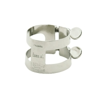 Bonade Inverted Nickel Plated Bb Bass Clarinet Ligature