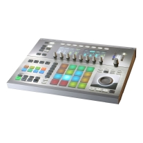 Native Instruments Maschine Studio in White W/Komplete 11 Ultimate Upgrade for Komplete Select
