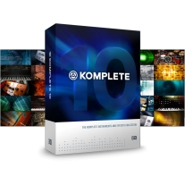 Native Instruments Komplete 10 Music Software Bundle