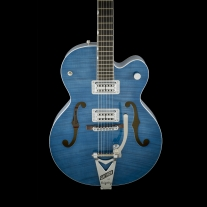 Gretsch G6120SH-HBLU Brian Setzer 2-Tone Hot Rod Harbor Blue