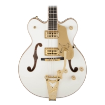 Gretsch G6139T-CBDC Center Block White Falcon Electric Guitar with Bigsby