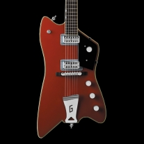 "Gretsch G6199 Billy-Bo Jupiter Thunderbird ""G"" Cutout Tailpiece Firebird Red"