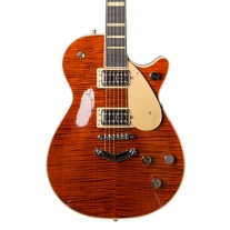 Gretsch G6228FM Players Edition Jet Electric Guitar In Bourbon Flame