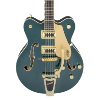 Gretsch G5422TG Electromatic Semi Hollow Electric Guitar In Cadillac Green
