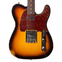 Fender 1961 Relic Telecaster Faded 3-Tone Sunburst w/ Case