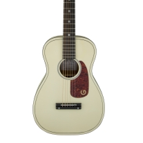 "Gretsch G9500 Jim Dandy 24"" Scale Flat Top Acoustic Guitar in Vintage White"