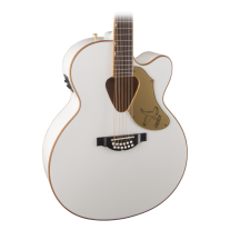 Gretsch G5022CWFE 12-String Jumbo White Falcon Acoustic/Electric Cutaway