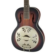 Gretsch G9240 Alligator Round Neck Biscuit Cone Resonator Guitar 2 Tone Sunburst