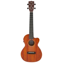 Gretsch G9121 Tenor A.C.E. Acoustic Electric Ukulele in Honey Mahogany Satin