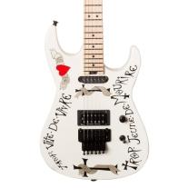 Charvel Warren Demartini Frenchie Signature USA Electric Guitar in White