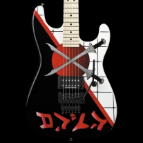Charvel Custom Shop Warren DeMartini San Dimas Crossed Swords Graphic
