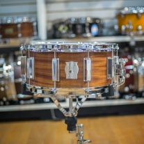 WFL III 6.5x14 Mahogany Snare Drum with Maple Reinforcement Rings