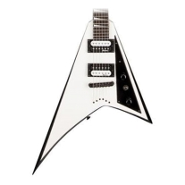 Jackson Rhoads JS32t White with Black Bevels