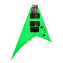 Jackson JS1X Rhoads Minion Electric Guitar in Neon Green