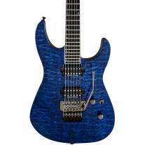 Jackson Pro Soloist SL2Q MAH - Transparent Blue
