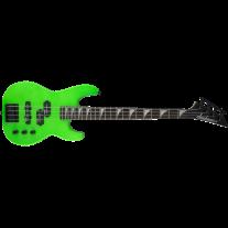 """Jackson JS Series Concert Bass Minion 28.6"""" Scale JS1X Electric Bass Neon Green"""
