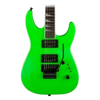 Jackson SLX X Series Soloist Slime Green Electric Guitar