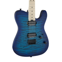 Charvel Pro Mod San DIMAS-Style 2 HH Electric Guitar in Chlorine Burst