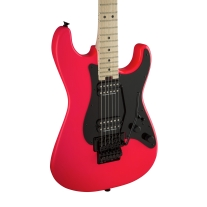 Charvel Pro-Mod So-CAL-Style 1 HH FR Electric Guitar Neon Pink