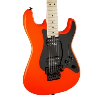 Charvel Pro-Mod So-CAL-Style 1 HH FR Electric Guitar Rocket Red