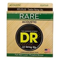 DR Strings Rare - Phosphor Bronze 12-String Acoustic: Lite