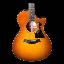 Taylor 312ce LTD Grand Concert Acoustic-Electric Guitar, Honey Burst w/ Case