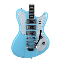 Schecter Retro Series Ultra III Electric Guitar Vintage Blue