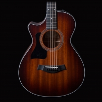 Taylor 322CE 12-Fret Left Handed Grand Concert Acoustic Electric Guitar