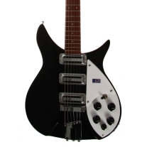 Rickenbacker 350v63 Liverpool Jet Glo with Case