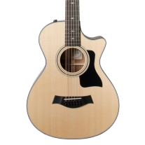 Taylor 2018 352ce 12-String Grand Concert Acoustic Electric Guitar with Case