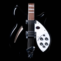 Rickenbacker 360 12-String Guitar in Jet Glo Black with Case