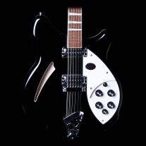 Rickenbacker 360 12-String Guitar in Jet Glo Black with Case