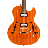 Guild Starfire II Hollowbody Electric Guitar Natural w/ Stop Tail
