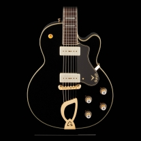 Guild M75 Aristocrat Limited Edition Black Newark St. Series with Case
