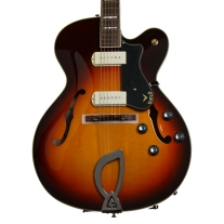 Guild X-175 Manhattan Antique Burst Newark St. Series Archtop Guitar with Case