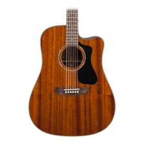 Guild GAD Series D-125CE Mahogany Dreadnought Acoustic Electric Natural w/ Case